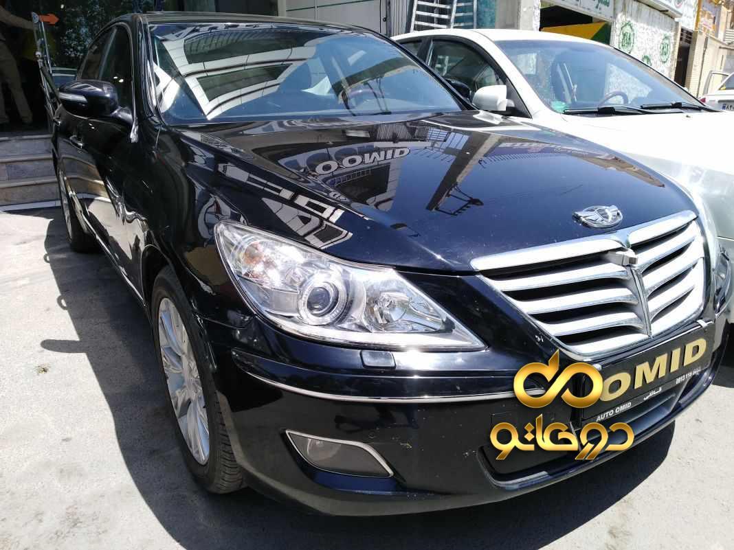 خرید خودرو  جنسیس سواری در اصفهان