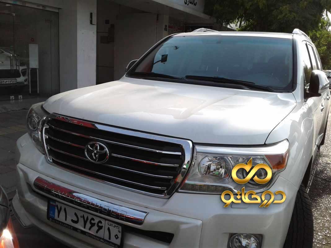 خرید خودرو تویوتا لندکروزر چهار درب GXR در تهران