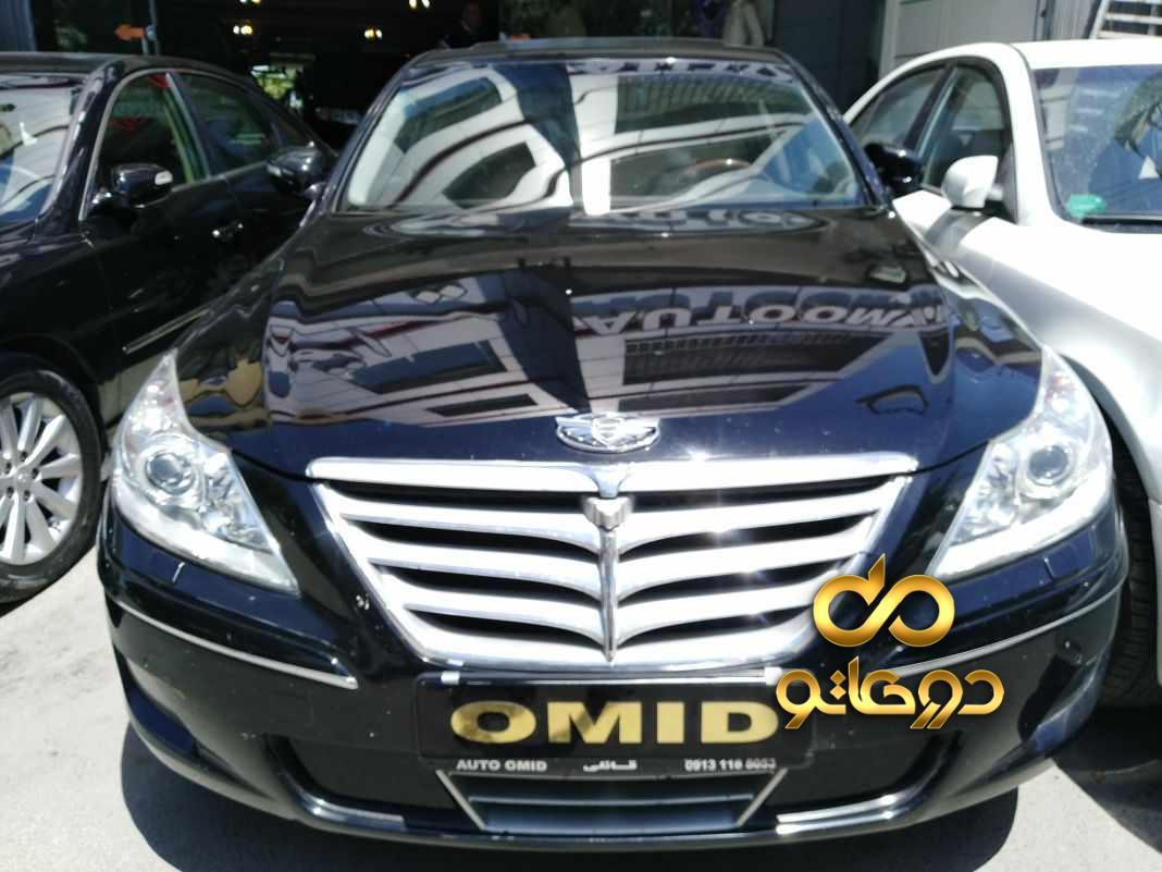 خرید خودرو هیوندای جنسیس سواری در اصفهان