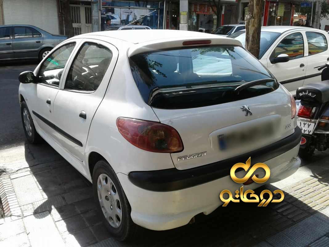 خرید خودرو  206 تیپ 5 در تهران