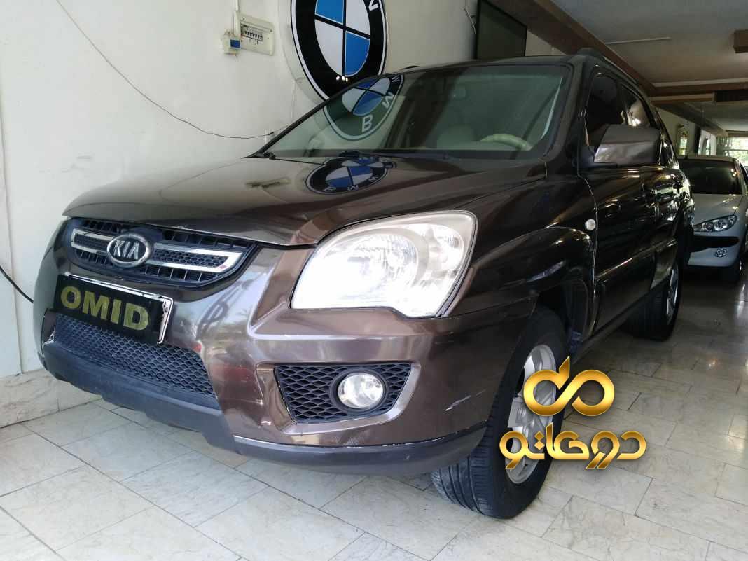 خرید خودرو  اسپورتیج ساده در اصفهان