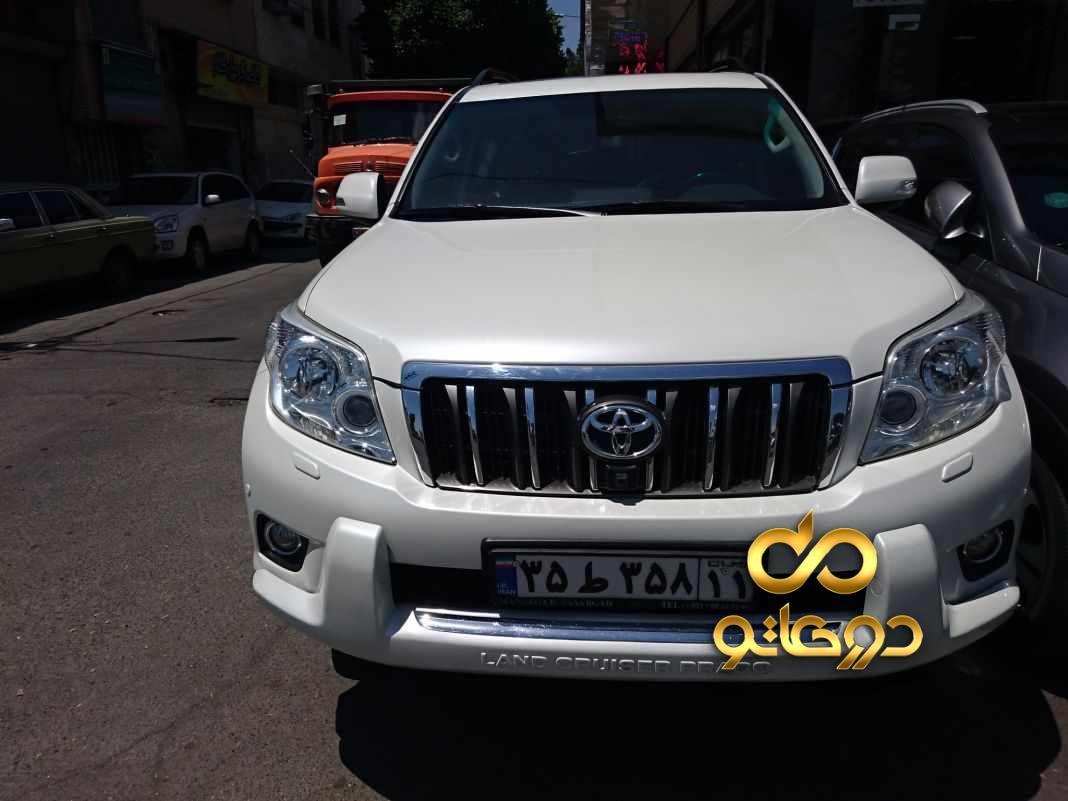 خرید خودرو تویوتا پرادو TXL دو در در البرز