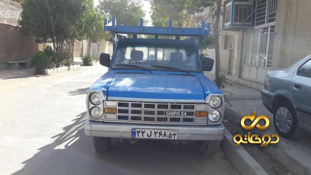 خرید خودرو نیسان نیسان زامیاد دوگانه سوز در اصفهان