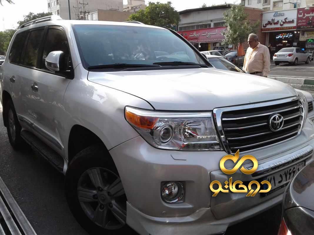 خرید خودرو  لندکروزر چهار درب GXR در تهران