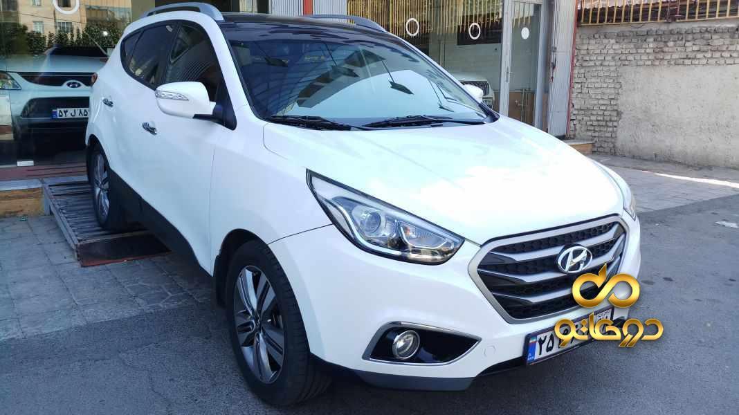 خرید خودرو  توسان دو دیفرانسیل در البرز