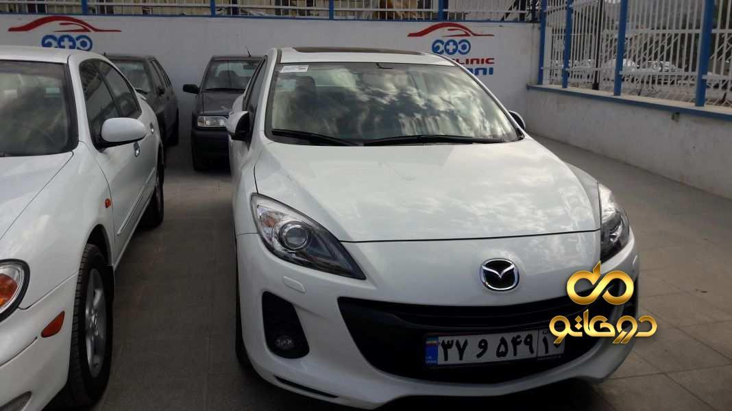 خرید خودرو مزدا مزدا 3 - 2000 صندوق دار تیپ 4 در اصفهان
