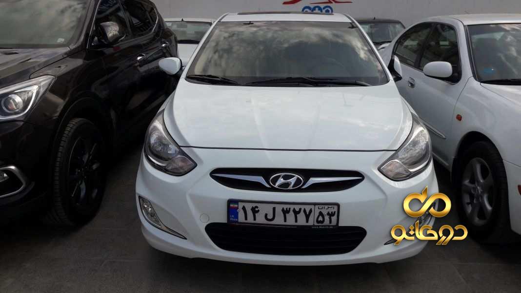خرید خودرو هیوندای اکسنت موتور معمولی در اصفهان