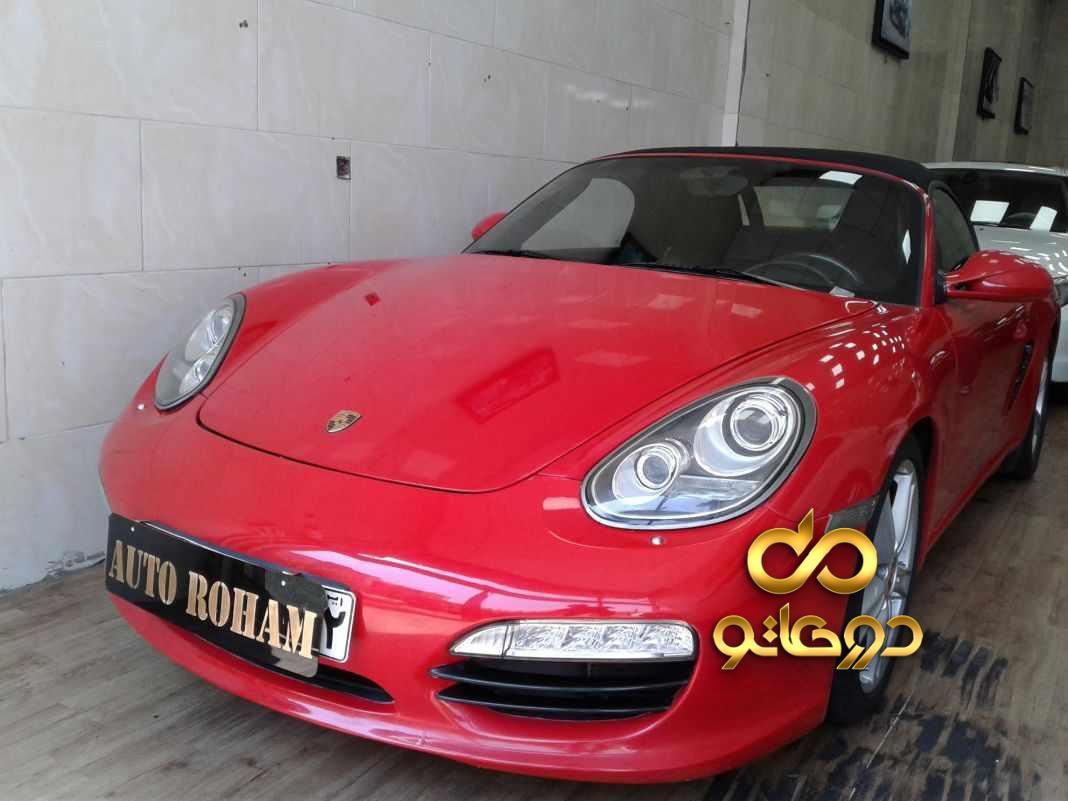 خرید خودرو پورشه باکستر در تهران