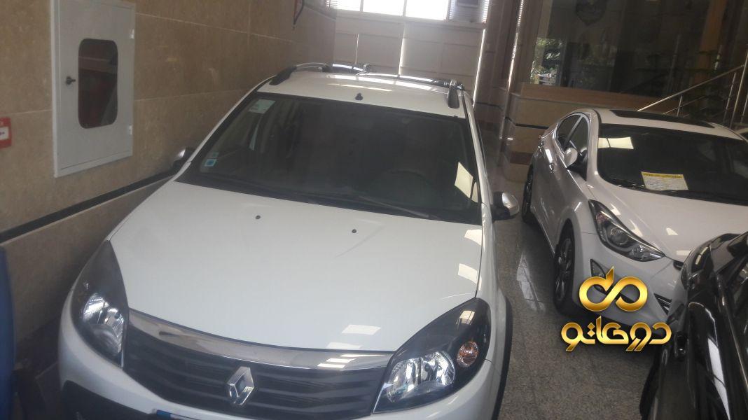 خرید خودرو رنو ساندرو استپ وی اتوماتیک در اصفهان