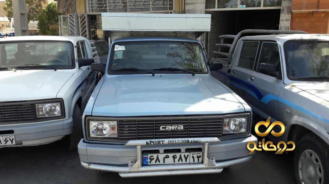 خرید خودرو وانت کارا 2000 تک کابین در اصفهان