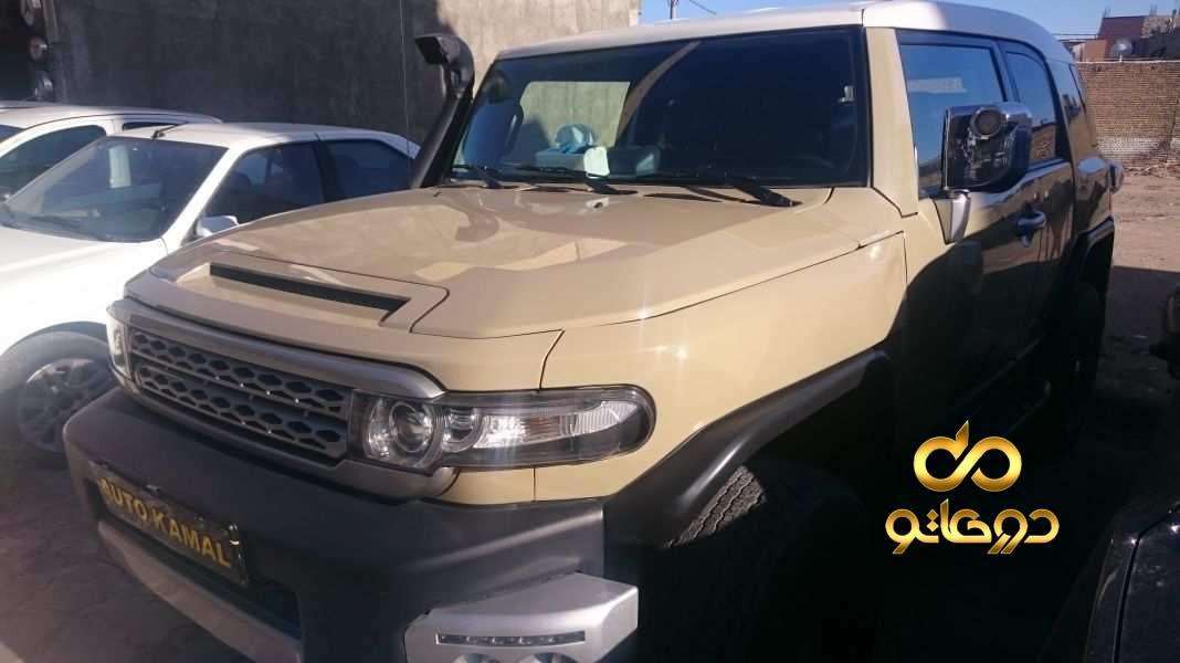 خرید خودرو  اف جی کروزر در اصفهان