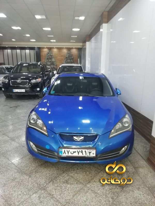 خرید خودرو هیوندای جنسیس کوپه در تهران