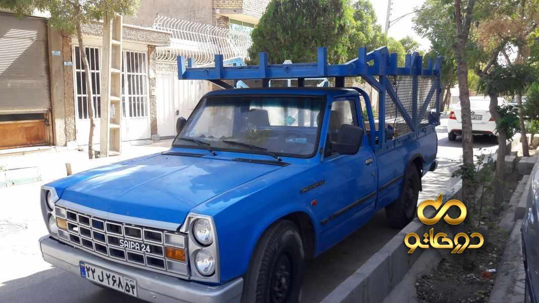 خرید خودرو  نیسان زامیاد دوگانه سوز در اصفهان
