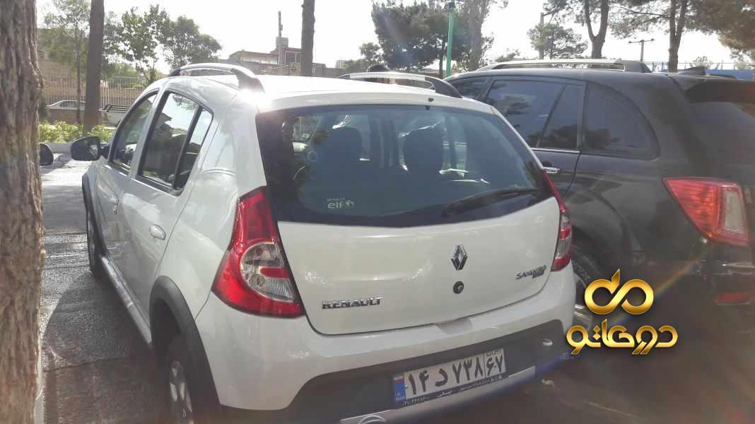 خرید خودرو  ساندرو استپ وی اتوماتیک در اصفهان