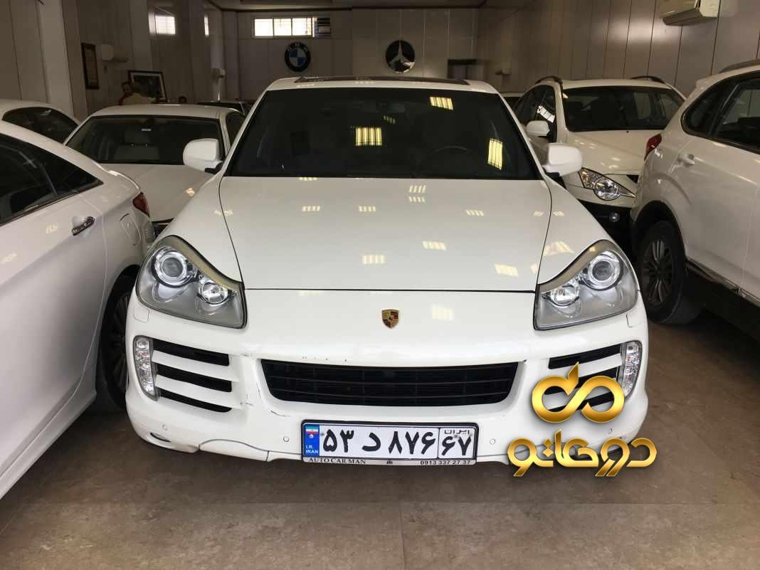 خرید خودرو پورشه کاین در اصفهان