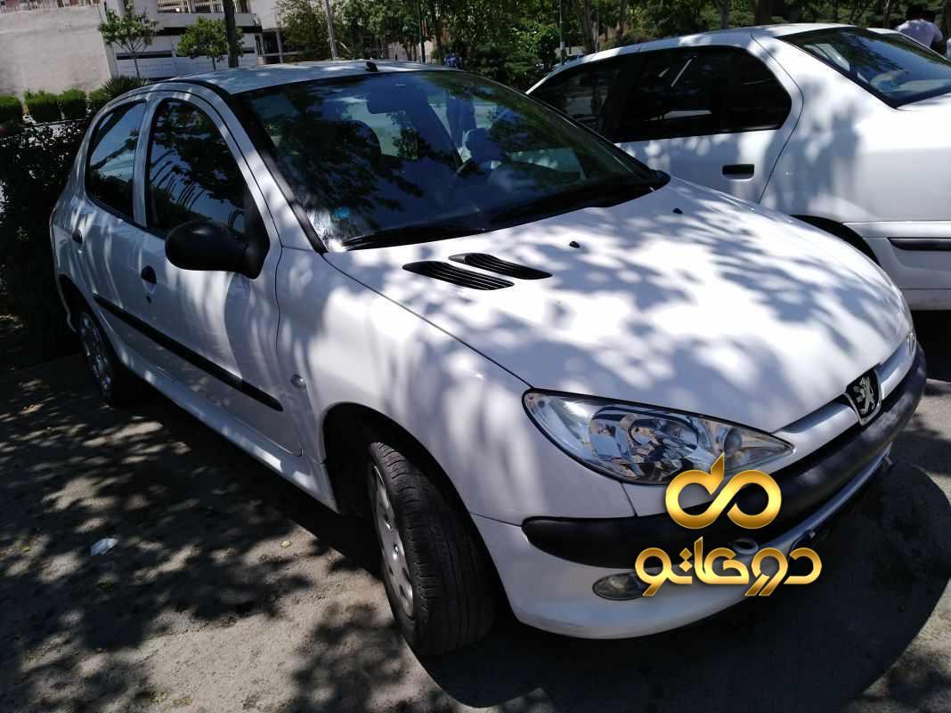 خرید خودرو  206 تیپ 2 در اصفهان