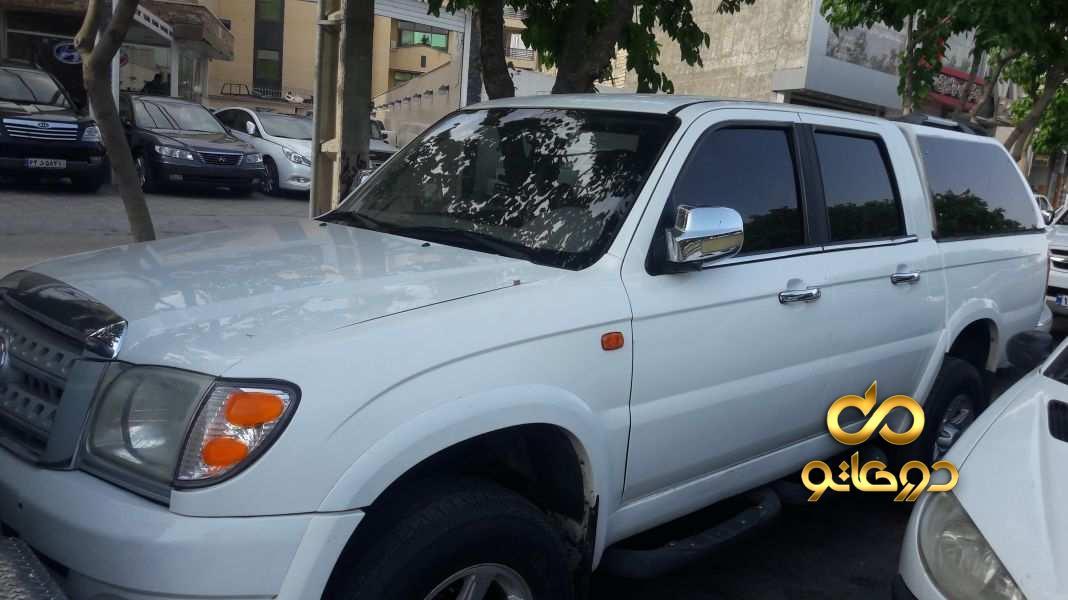 خرید خودرو کاپرا دو کابین دو دیفرانسیل در اصفهان