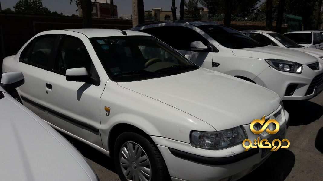 خرید خودرو  سمند EF7-LX پایه گازسوز در اصفهان