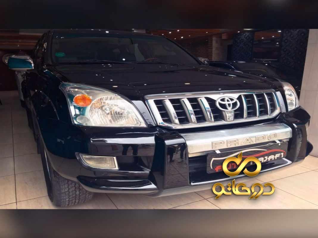 خرید خودرو تویوتا پرادو VX چهار در در تهران