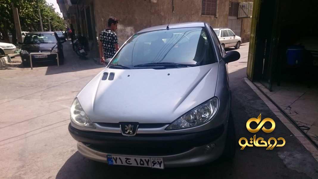 خرید خودرو پژو 206 تیپ 2 در اصفهان