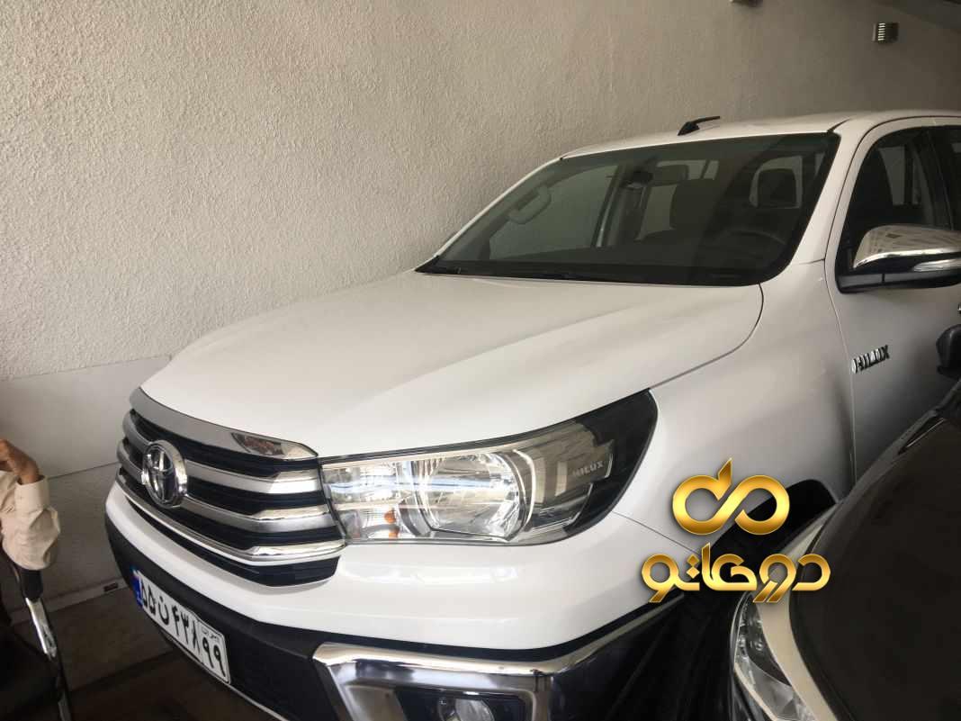 خرید خودرو تویوتا هایلوکس دو کابین دنده ای در تهران