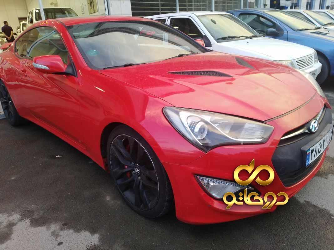 خرید خودرو  جنسیس کوپه در اصفهان