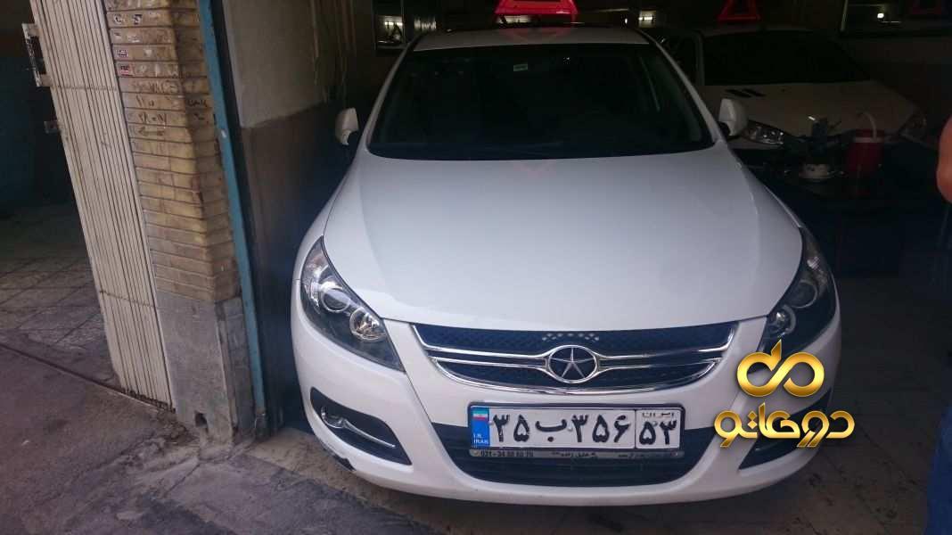 خرید خودرو جک J5 اتوماتیک در اصفهان