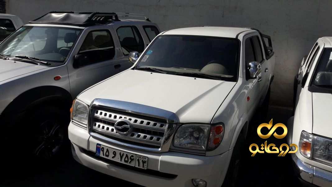 خرید خودرو  دوکابین تک دیفرانسیل در اصفهان