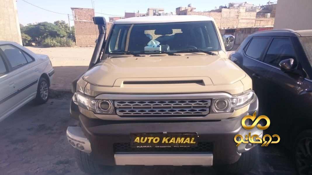 خرید خودرو تویوتا اف جی کروزر در اصفهان