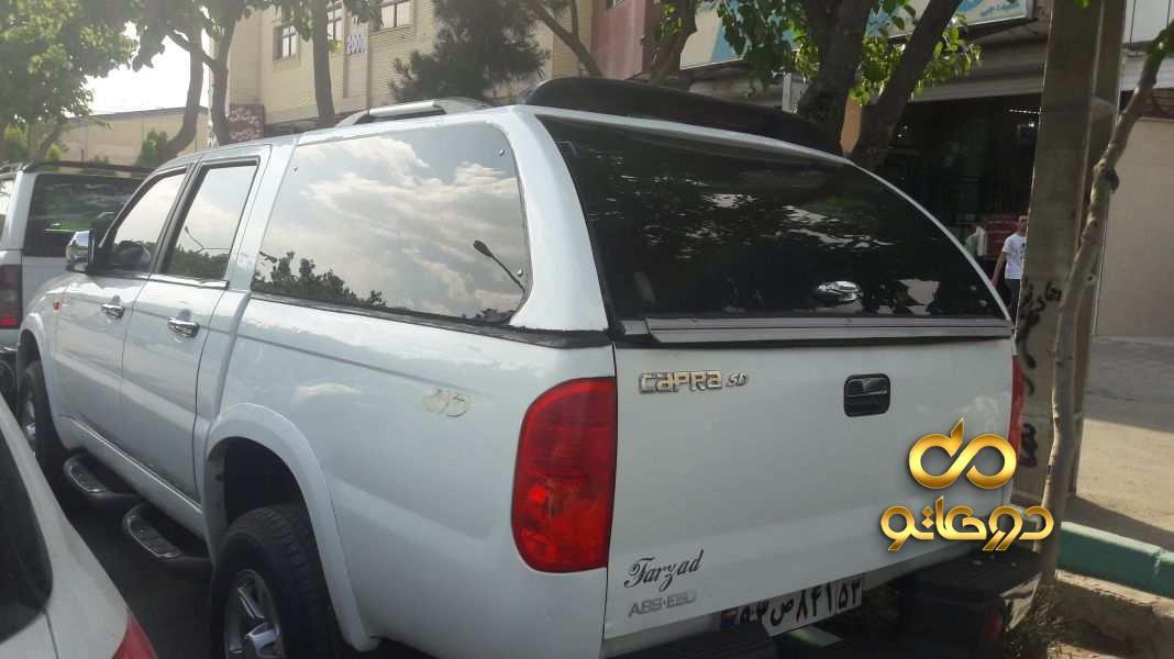 خرید خودرو  دو کابین دو دیفرانسیل در اصفهان