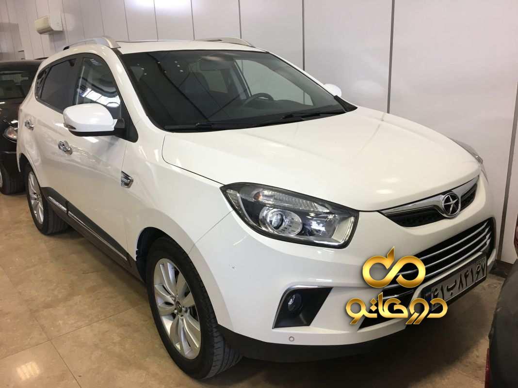 خرید خودرو جک S5 اتوماتیک در اصفهان