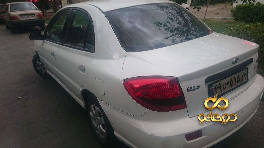 خرید خودرو  ریو دنده ای (مونتاژ) در اصفهان